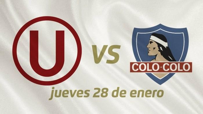 Universitario de Deportes enfrentará a Colo Colo en la 'Noche Crema'