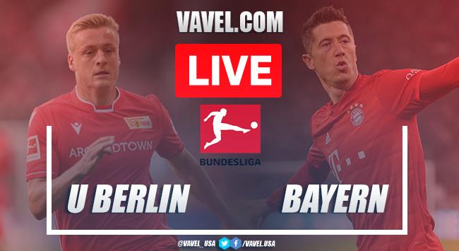 Goals and Results: Union Berlin 0-2 Bayern Munich in 2020 Bundesliga
