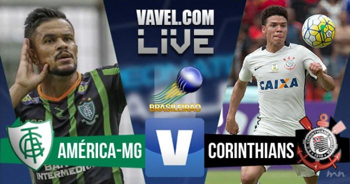 Resultado América MG x Corinthians pelo Campeonato Brasileiro 2016 (0-2)