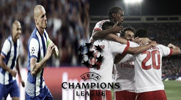 Porto & Benfica: Gloriosa jornada de 'Champions' para Portugal