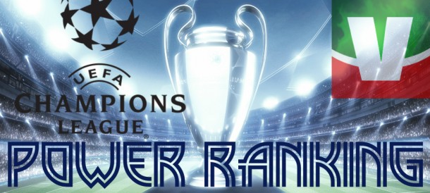 Champions League 2015/16: il Power Ranking