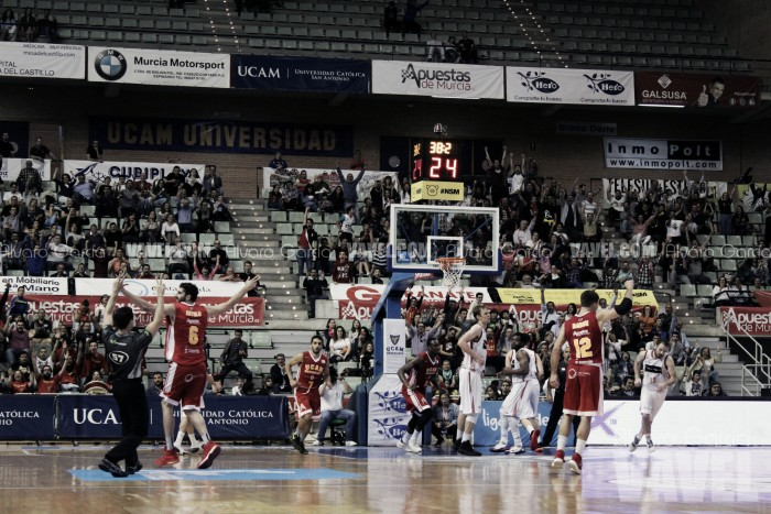 UCAM sigue en la pelea por el Playoff