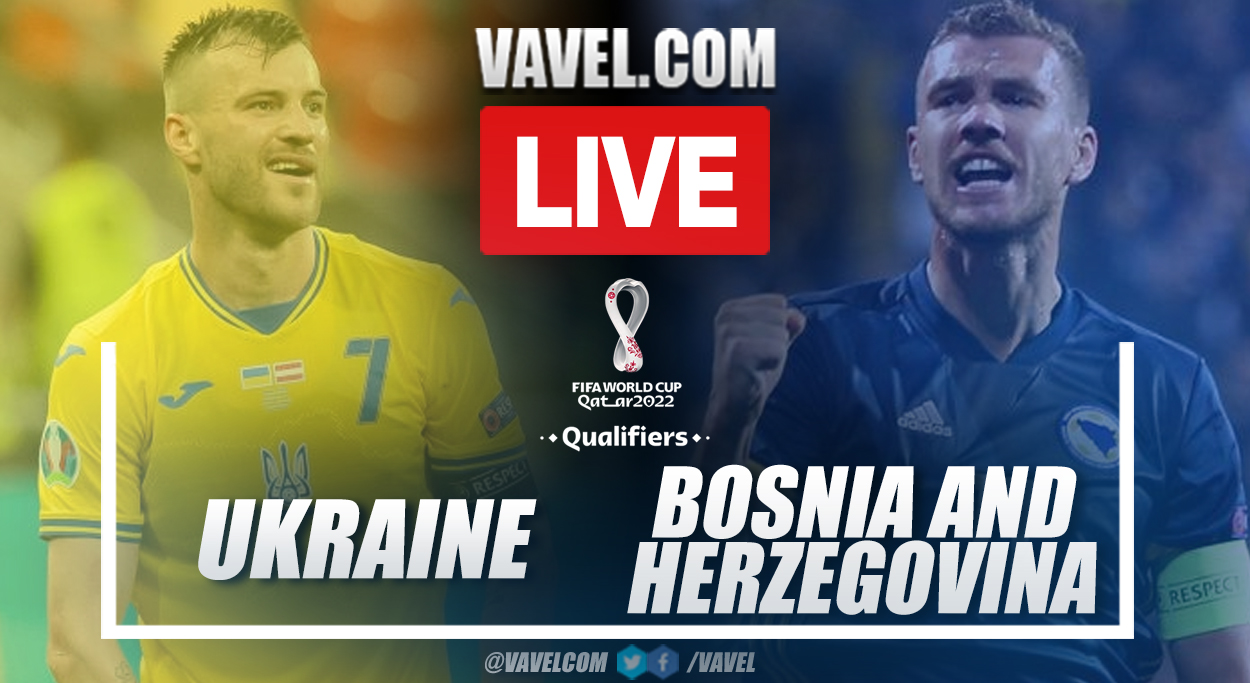 Goals and highlights: Ukraine 1-1 Bosnia and Herzegovina in UEFA Qualifiers for Qatar 2022