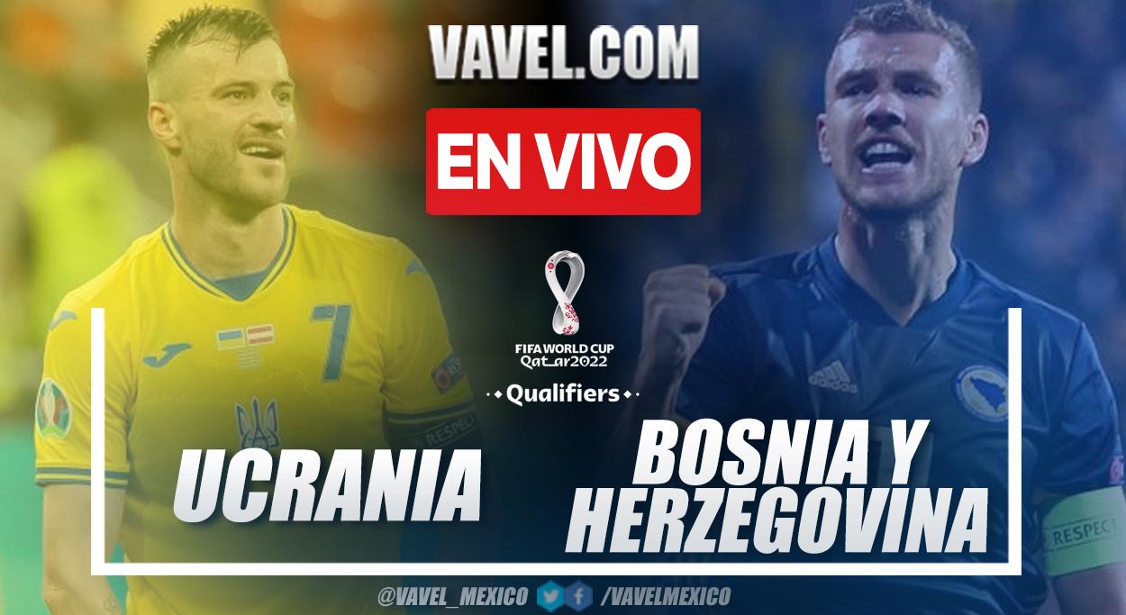Resumen y goles: Ucrania 1-1 Bosnia y Herzegovina en las Eliminatorias de la UEFA para Qatar 2022
