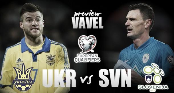 Ucraina, con la Slovenia alla caccia di vendetta e qualificazione