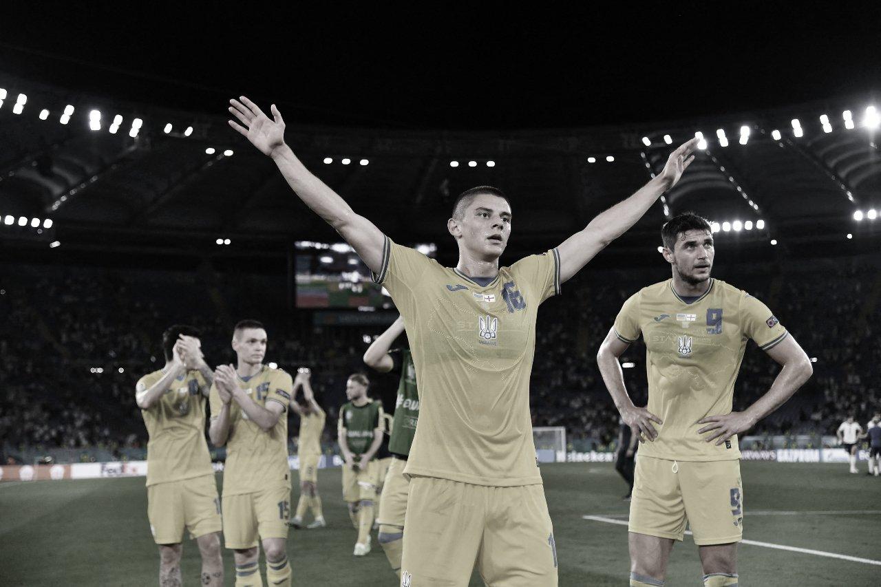 Ucrania - Inglaterra: puntuaciones de Ucrania en los cuartos de final de la EURO 2020