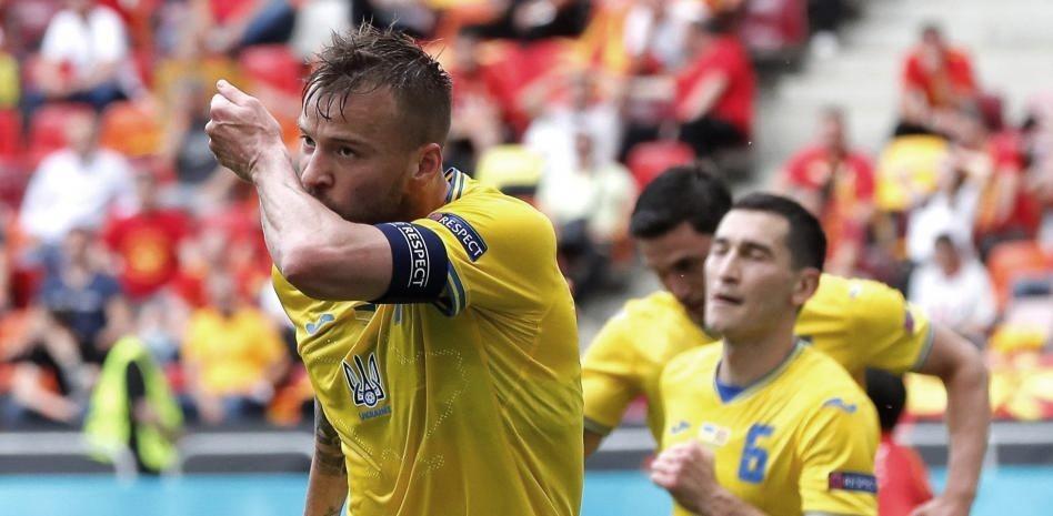 Ucrania 2-1 Macedonia del Norte: triunfo para pensar en una clasificación a octavos