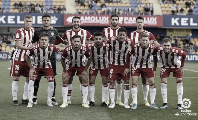 AD Alcorcón-UD Almería: puntuaciones de la UD Almería correspondientes a la jornada 12 de LaLiga SmartBank