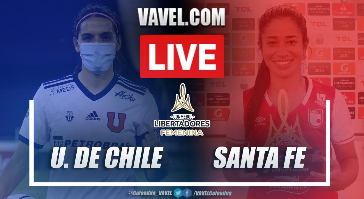 Resumen Universidad de Chile vs Santa Fe (3-1) en cuartos de final por Copa Libertadores Femenina 2020