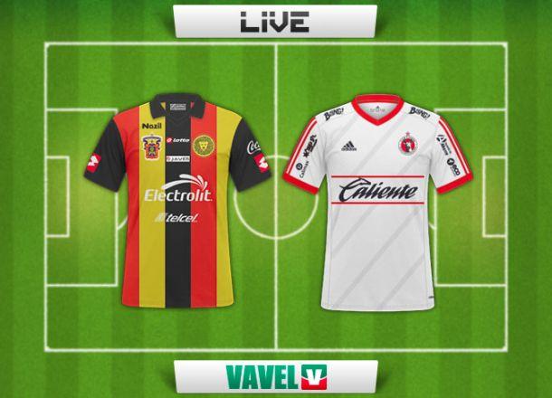 Resultado Leones Negros - Xolos de Tijuana en Liga MX 2015 (0-1)