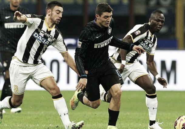 Udinese, le pagelle dopo la partita con l'Inter