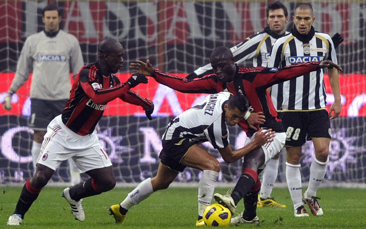 Udinese-Milan, sfida da piani alti