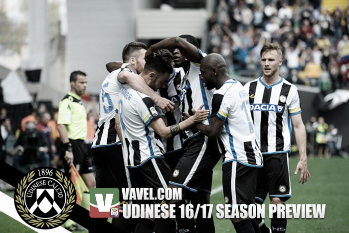 Udinese 2016/17 Serie A season preview: A consolidation should be celebrated
