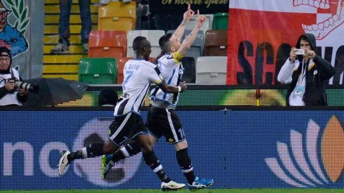 Udinese - Finisce un 2016 da cardiopalma