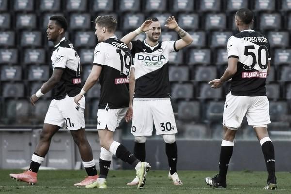Udinese marca no fim e arranca vitória em confronto direto com Fiorentina