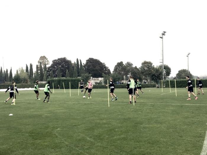 Udinese - Widmer torna in gruppo dopo due mesi