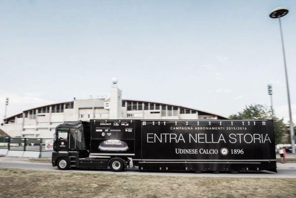 Grande successo per l'Udinese Tour, gli abbonamenti decollano