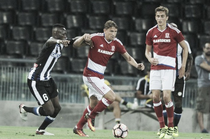 Udinese 0-0 Middlesbrough: Guzan makes debut as Boro held in friendly