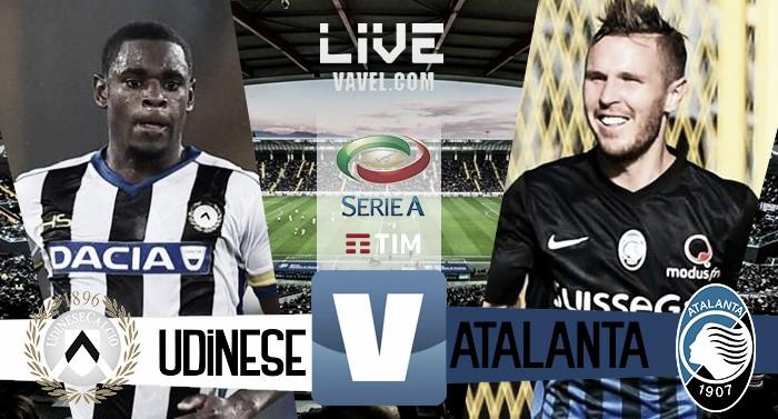 Udinese - Atalanta in Serie A 2016/2017 (1-1) Cristante e Perica firmano un pareggio.