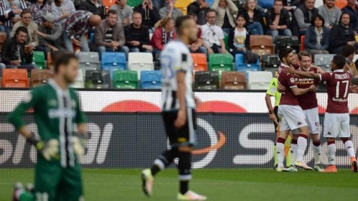 Risultato Udinese 2-2 Torino in Serie A 2016/17: scoppiettante pareggio, Ljajic raggiunge i friulani