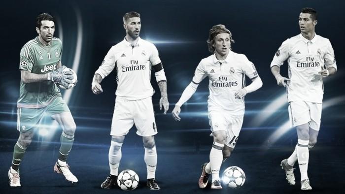 Ramos, Modric y Cristiano; los mejores en sus posiciones de la Champions 2016/17