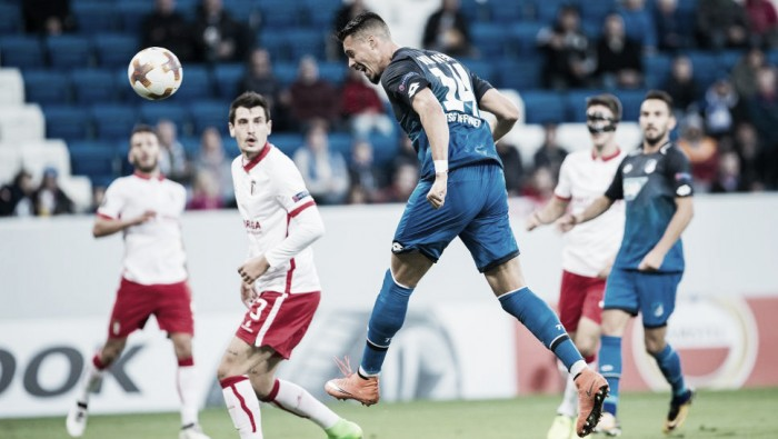 Hoffenheim sai na frente, mas cede virada para Braga na Europa League