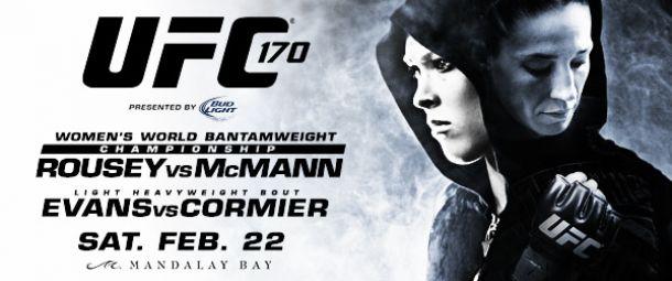 UFC 170: Rousey por otra defensa del título