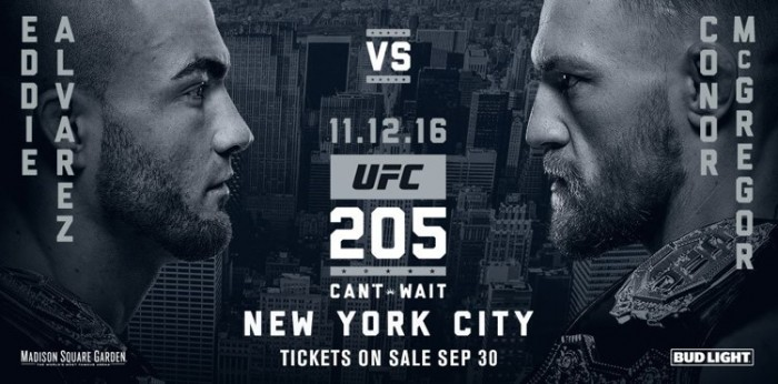UFC 205: Vencedor luta Eddie Alvarez vs Conor McGregor