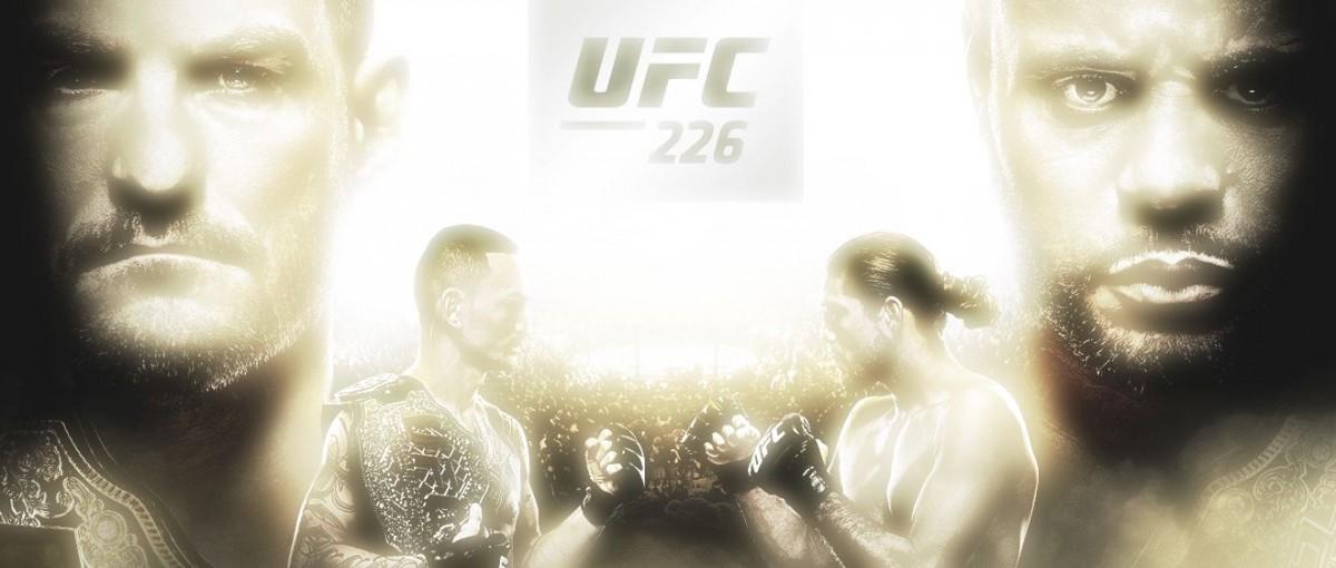 UFC 226 el próximo 7 de Julio