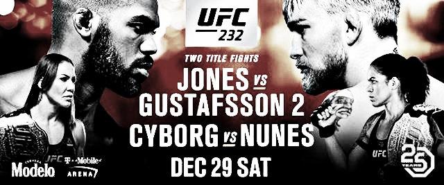 UFC 232: lo que se podría observar