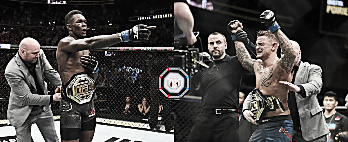 UFC 236: Poirier e Israel Adesanya se convirtieron en los nuevos campeones