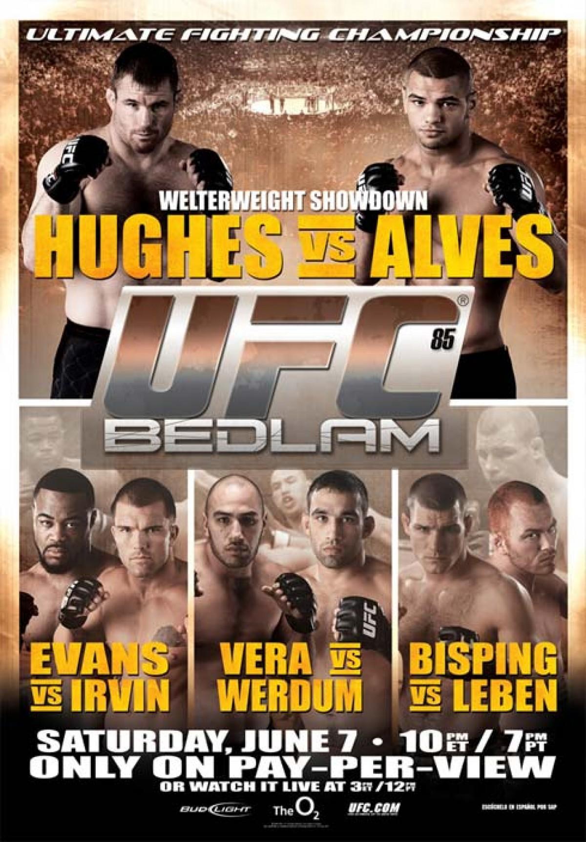 """Memory of combats: en UFC hubo """"La cartelera de las lesiones"""""""