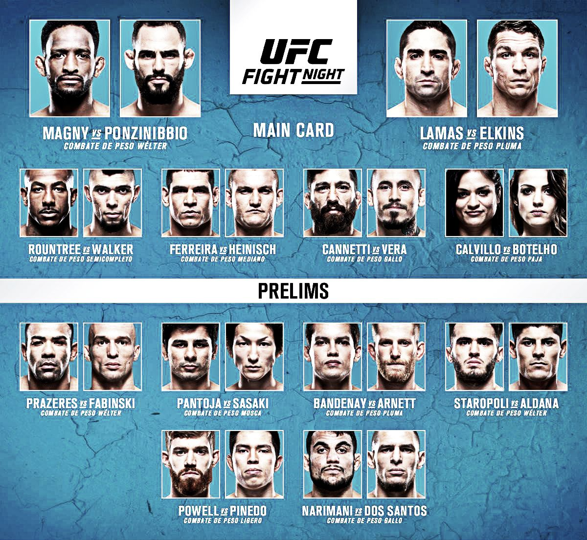 Suspensiones médicas de UFC Argentina: Magny y Rountree, ambos 60 días