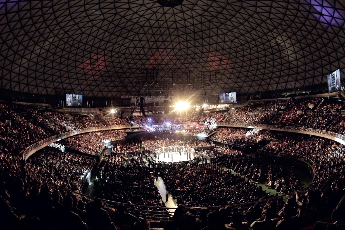 Tronó la Arena Movistar de Chile