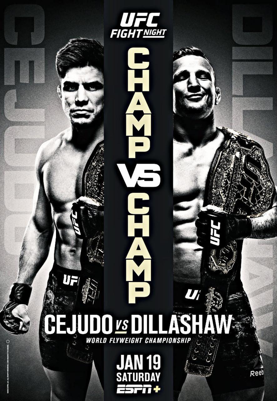 Lanzamiento del cartel de UFC en ESPN +