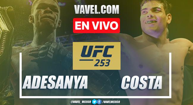 Resumen y Resultado: Israel Adesanya vs Paulo Costa en UFC 253