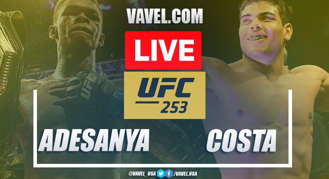 UFC Live: Adesanya vs Costa LIVE Stream Result Online, TV Updates and How to Watch UFC 253