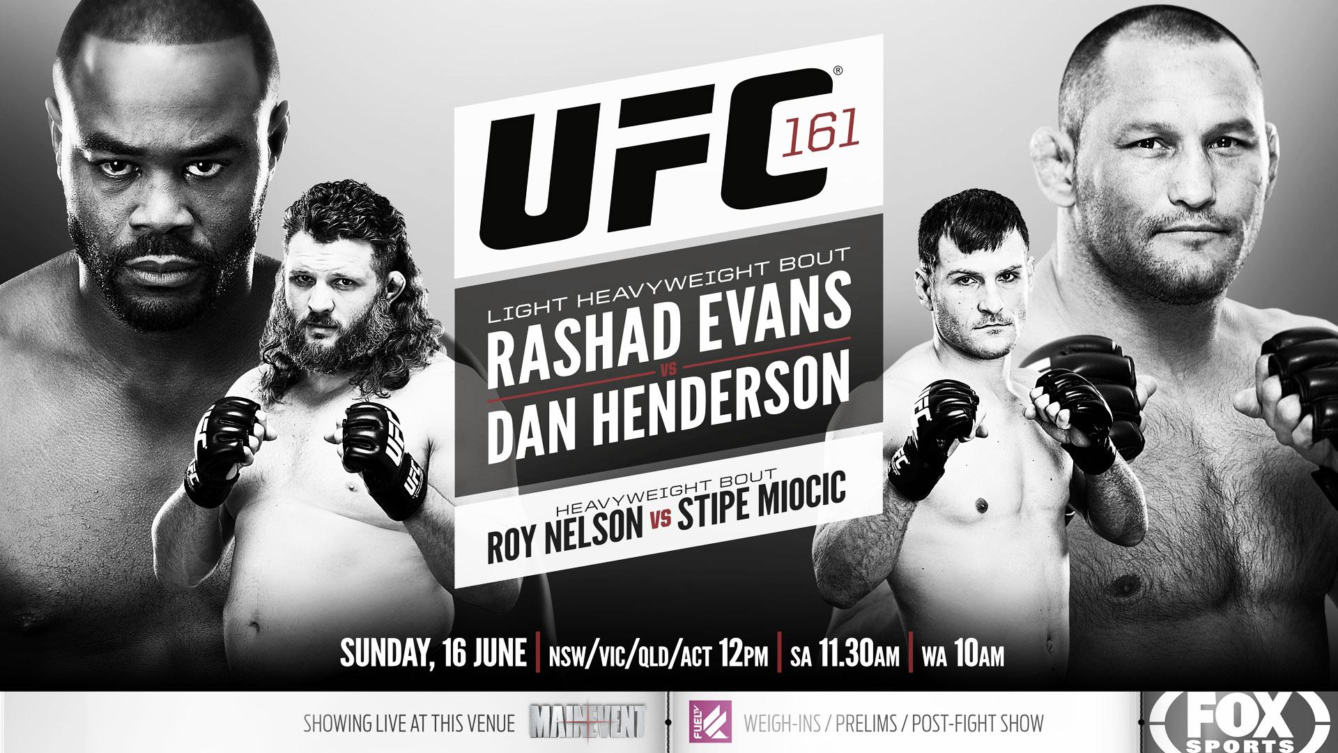 Resultados UFC 161: Evans vs Henderson