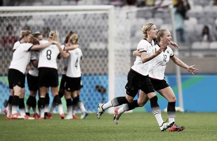 Alemanha quebra invencibilidade do Canadá e disputa inédita final no futebol feminino