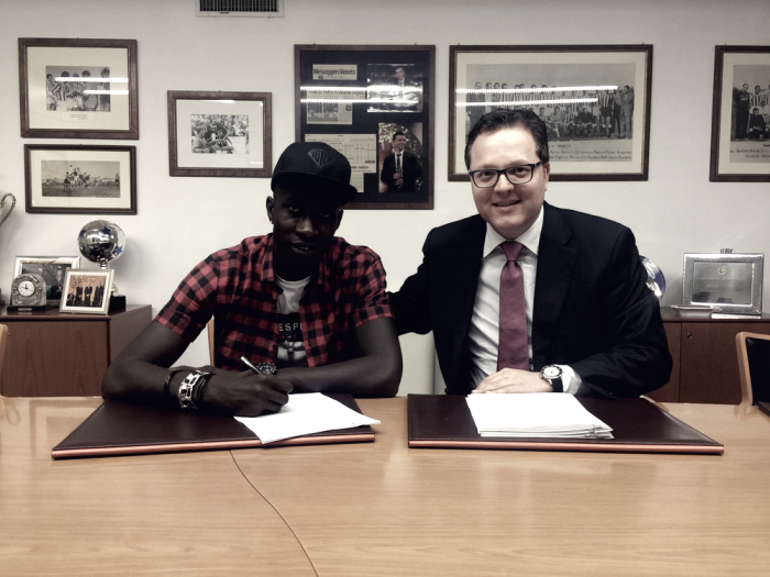 Mamadou Coulibaly del Pescara firma con l'Udinese — UFFICIALE