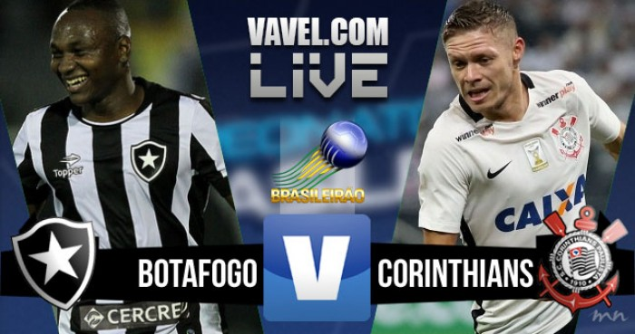 Resultado Botafogo x Corinthians no Campeonato Brasileiro 2016 (2-0)