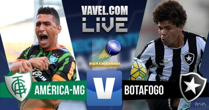 Resultado América-MG x Botafogo pelo Campeonato Brasileiro (1-0)