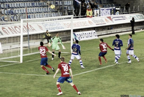 Numancia - Recreativo: puntuaciones del Recreativo, jornada 16