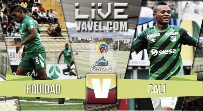 La Equidad vs. Deportivo Cali en vivo online por la Liga Águila 2016-I (0-0)