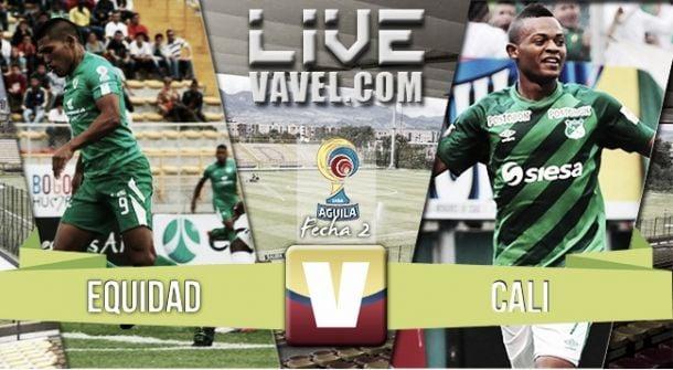Resultado La Equidad vs. Deportivo Cali minuto a minuto (1-2)