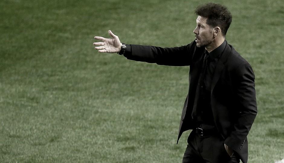 """Simeone: """"El objetivo lo va a conseguir la plantilla"""""""
