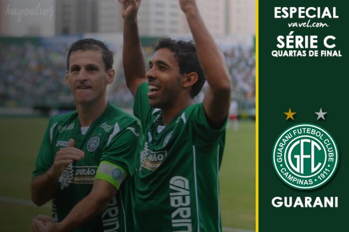 Especial quartas de finais da Série C: Guarani, acesso para confirmar reconstrução do clube