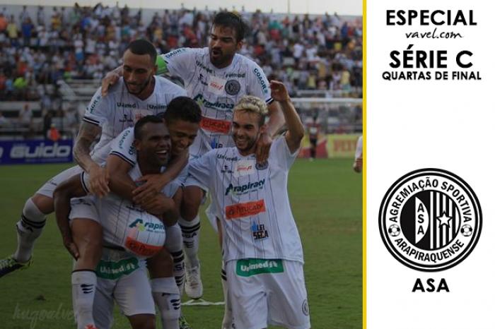 Especial quartas de finais Série C: ASA, esquecer primeira fase irregular e surpreender Guarani