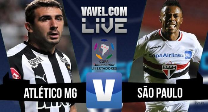 Resultado Atlético MG x São Paulo nas quartas de final da Copa Libertadores 2016 (2-1)