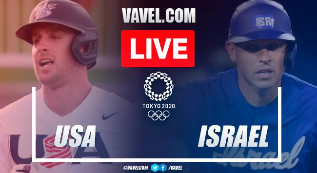 Runs and highlights: USA 8-1 Israel in Baseball Olympic Games 2020